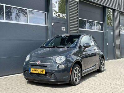 tweedehands Fiat 500e 24kwh   Zeer net   Rhino-grey   Subsidie mogelijk!