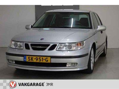 tweedehands Saab 9-5 2.3 T SE Aero,Stoelverwarming+verkoeling,Achterban