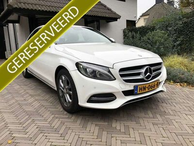 tweedehands Mercedes C220 CDI Aut. Schuifdak Navigatie LED