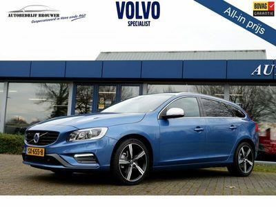 tweedehands Volvo V60 2.0 D4 190PK GEARTRONIC-8 BUSINESS SPORT LUXERY   INTELLISAFE   SCHUIFDAK