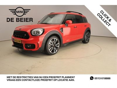 tweedehands Mini Cooper S Countryman 2.0 Hammersmith Automaat / Blackpack / Panoramadak / Leder / Alu wielen 19 inch / LED / Harman-Kardon