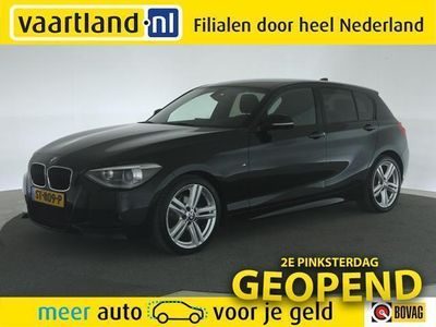 tweedehands BMW 116 1-SERIE i M-sport 5-drs [ xenon navi climate ]