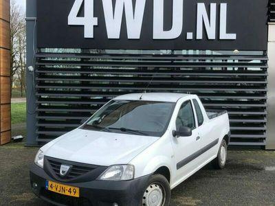 tweedehands Dacia Logan 1.5 dCi PICK-UP VAN AIRCO NIEUWE APK - GARANTIE - € 4190 EXCL Super functionele PICK-UP grijs kenteken zeer voordelig . afleverpakket met nieuwe apk naar keuze