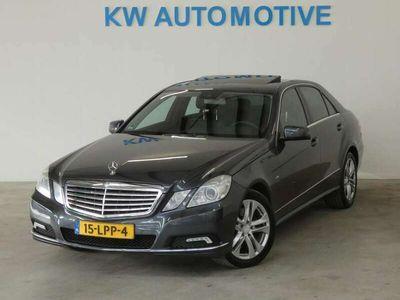 tweedehands Mercedes E250 CDI AUT/ NAVI/ LEDER/ SCHUIFDAK/ MEMORY/ TREKHAAK/