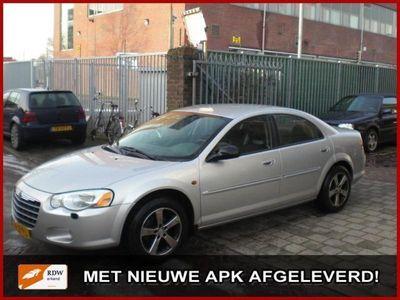 tweedehands Chrysler Sebring 2.7 V6 limited aut Full options Nieuwstaat