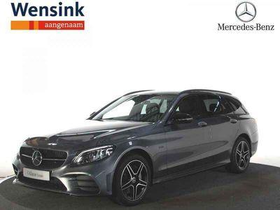 tweedehands Mercedes C300 e Estate Business Solution AMG Limited   Premium   Trekhaak   Sfeerverlichting   360° camera
