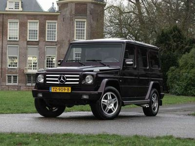 tweedehands Mercedes G500 | Youngtimer | Jubileum-edition