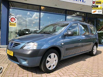 tweedehands Dacia Logan MCV 1.4 Lauréa Airco Elek.Pakket Trekhaak NL-Auto NAP!