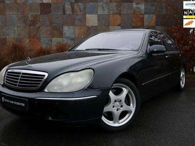 tweedehands Mercedes S600 Lang V12 VIP Massage/Champagne/FAX/Dakje
