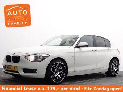 tweedehands BMW 116 1-SERIE i Business M-Sport Uitv! Full map Navi, Privacy, PDC, ECC, Sport LMV