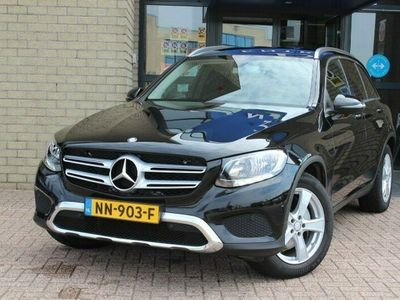 tweedehands Mercedes 220 GLC4 Matic Luxury Ambition-NAVIGATIE-PARKEER ASSITENT-TREKHAAK-CAMERA-PRIVACY-