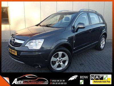 tweedehands Opel Antara 2.4-16V Enjoy Leder Trekhaak 4x4 Airco Cruise NL-g