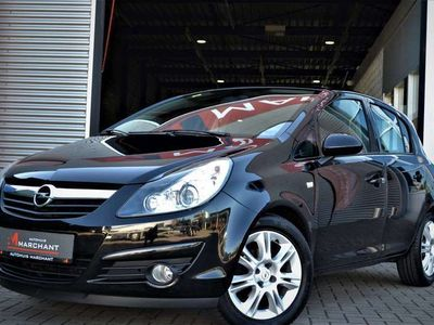 tweedehands Opel Corsa 1.4-16V Cosmo 5DRS LEER NW.APK AIRCO MF.STUUR
