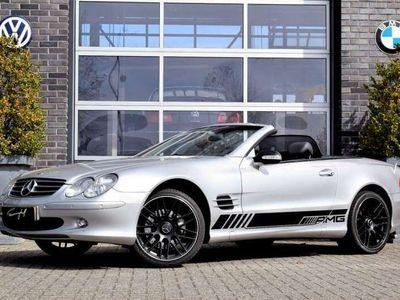 tweedehands Mercedes SL500 SL-klasseAUT. NAVI LEDER XENON ONDERHOUDSHISTORIE