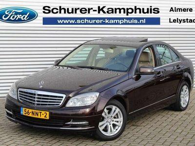 tweedehands Mercedes C180 CGI Business Elegance 157PK Aut. Navi Xenon Schuif