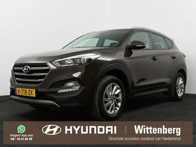 tweedehands Hyundai Tucson 1.6 GDi Ann. Edition | Dodehoekdetectie | Stuur - en stoelverwarming | Navigatie |