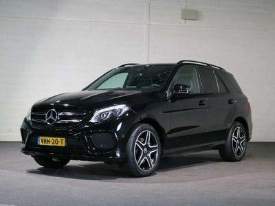 tweedehands Mercedes GLE350 CDI 4-Matic AMG Line Grijs kenteken
