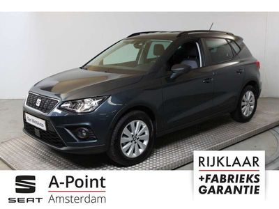 "tweedehands Seat Arona 1.0 TSI Style Business Intense Navi8inch/ PDC v+a en Cam/Clima/Adapt. Cruisecontrol/Keyless/16""LMV"