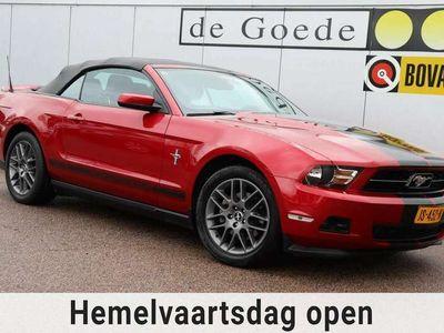 tweedehands Ford Mustang USA 3.7 V6 Cabrio automaat el.kap leer