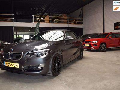 tweedehands BMW 220 220 Cabrio i Executive Luxury leder automaat