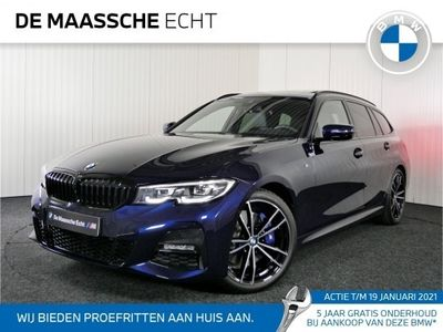 tweedehands BMW 330 3-SERIE Touring i High Executive M Sport Automaat / Sportstoelen / Panoramadak / Live Cockpit Professional / Wifi Hotspot / HiFi / Stoelverwarming / 19 inch LM / Getint glas achter