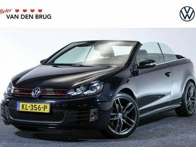 tweedehands VW Golf Cabriolet GTI 2.0 TSI 211 PK | Xenon | Leder | Stoelverwarming | Navigatie |