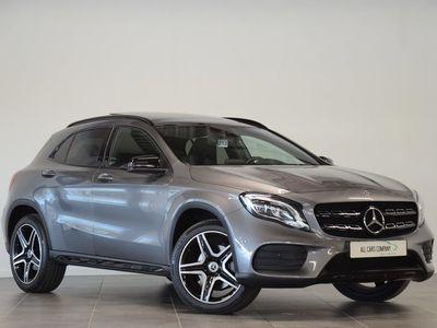 tweedehands Mercedes GLA250 4Matic AMG Aut. Comand, Panorama, Camera, Night-Pakket, 19''