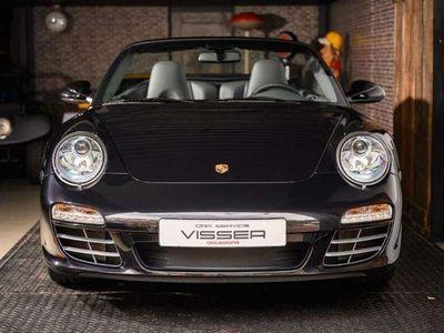 tweedehands Porsche 911 Carrera 4 Cabriolet 997 997 PDK Basaltschwarz-met.