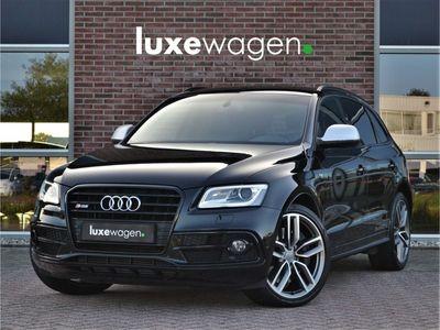 tweedehands Audi SQ5 Q53.0 BiTDI 313pk quattro 21inch B&O Trekhaak Black-Optic Leder