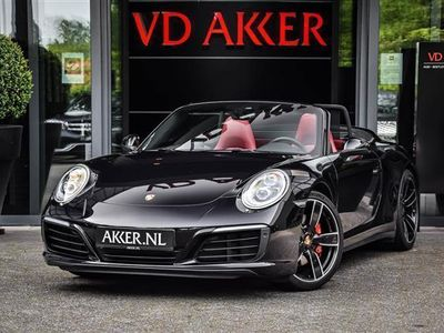 tweedehands Porsche 911 4S CABRIOLET BICOLOR LEDER+CAMERA NP.182K