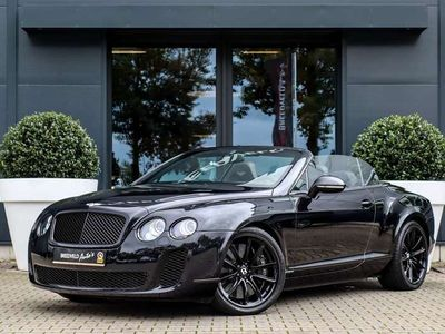 tweedehands Bentley Continental GT 6.0 W12 Supersports Convertible