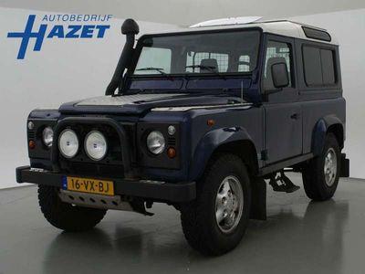 """tweedehands Land Rover Defender 2.5 Td5 90"""" 4X4 VAN *MARGE* GRIJS KENTEKEN"""