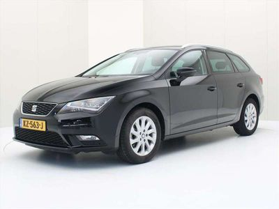 tweedehands Seat Leon ST 1.6 TDI 110PK Style Connected Business [ CAMERA+LED+NAVI+PDC+CRUISE ]