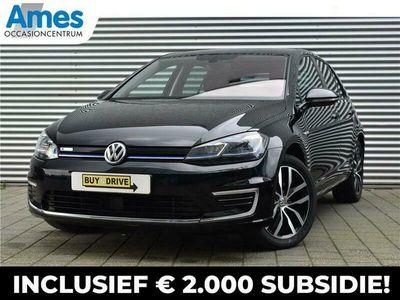 tweedehands VW e-Golf 136pk E-DITION   Incl. Btw   Netto bijtelling vanaf €89 p.m.   8% bijtelling
