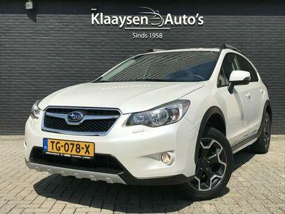 tweedehands Subaru XV 2.0i Premium AWD AUT. | dealer onderhouden | navigatie | opendak | trekhaak | leder interieur | 40.000 KM