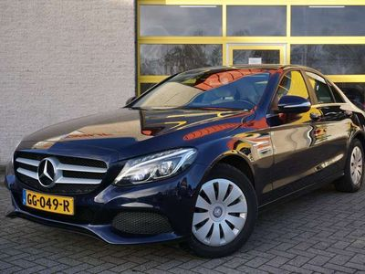 tweedehands Mercedes C180 Edition BJ2015 Led   Pdc   Audio   Navi   Έlectric verstelbare voorstoelen   Climate control   Cruise control