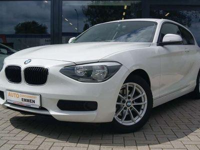 tweedehands BMW 114 114 i EDE Business+ + IDRIVE + STOELVERW. + AIRCO +