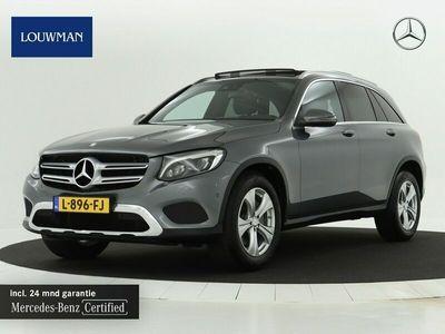 tweedehands Mercedes 250 GLC-KLASSE4MATIC Exclusive   Navigatie   Panoramadak   Parkeer Pakket   Inclusief 24 MB Premium Certified garantie voor Europa.