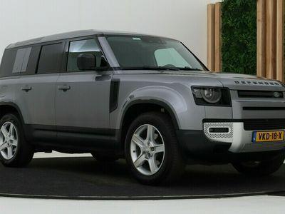 tweedehands Land Rover Defender 2.0 D200 110 SE | GRIJS KENTEKEN | Luchtvering | 3D Camera | DAB+ | Leder | Stoelverwarming | Apple Carplay