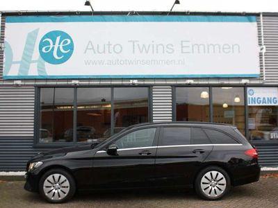 tweedehands Mercedes C300 Estate CDI HYBRID PRESTIGE SPORT STOELEN LEDER PDC