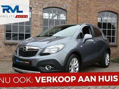 tweedehands Opel Mokka 1.4 T 140PK Automaat Navigatie Leder Camera 1e Eig