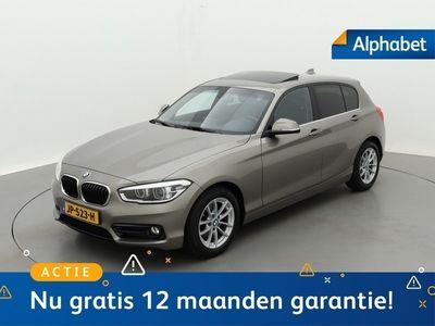tweedehands BMW 116 1 Serie D 116pk Sport Line High Executive Verwarmbare Lederen Sportstoelen Schuif/Kanteldak