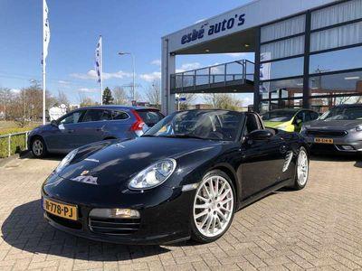 tweedehands Porsche Boxster S 3.2 280 pk Navigatie Sportstoelen Cocoa Leder Bluetooth Stoelverwarming 19 Inch Velgen Xenon Handgeschakeld 6-bak