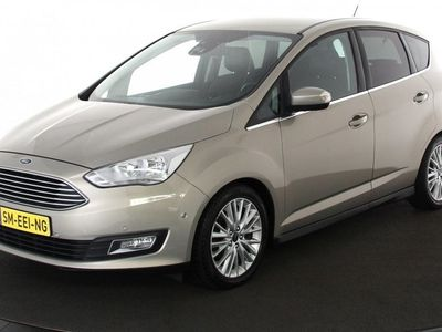 tweedehands Ford C-MAX 1.0 Titanium | 125pk | Navigatie | Leder/stof | Advanced Technology Pack | Zondag Open!