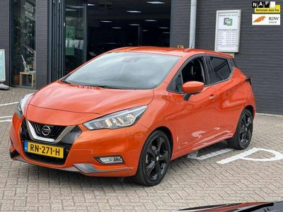 tweedehands Nissan Micra 0.9 IG-T Tekna/1STE EIG/LEDER/CAMERA/NAVI/NL-AUTO