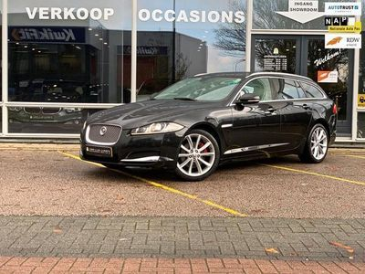 tweedehands Jaguar XF Sportbrake 2.2D S Premium Business Edition | Bi-Xenon | Leder