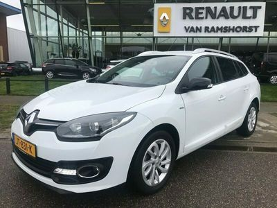 tweedehands Renault Mégane Estate 1.5 dCi Limited Trekhaak Cruise Climate PDC A Navigatie