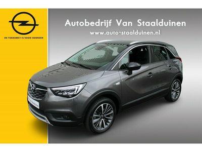 tweedehands Opel Crossland X 1.2 Turbo Ultimate Zwart dak| Leer| 17 inch| Camera| 130pk| Winter Pakket|