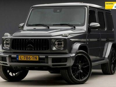 tweedehands Mercedes G500 G-KLASSEAMG Edition 422Pk (SCHUIFDAK, RODE GORDELS, STOELKOELING, MASSAGE, SFEERVERLICHTING, MULTIBEAM LED)