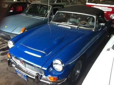 tweedehands MG C -Cabrio blue